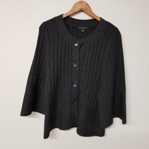 Banana Republic Gray Wool Sweater L NWOT